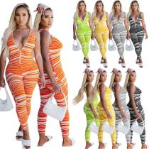 1050819 Wholesale Fashion Women Clothes 2021 Summer Women Jumpsuits And Rompers