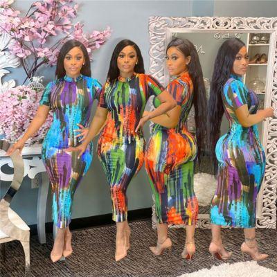 1050811 Best Seller Women Clothes 2021 Summer Dress Women Lady Elegant Casual Dresses