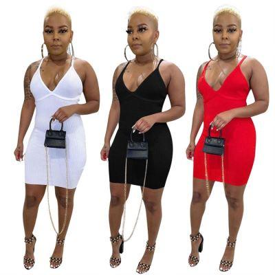 1050863 New Arrival Pleated Dress 2023 Dress Miniskirt Beach Dress Summer Long