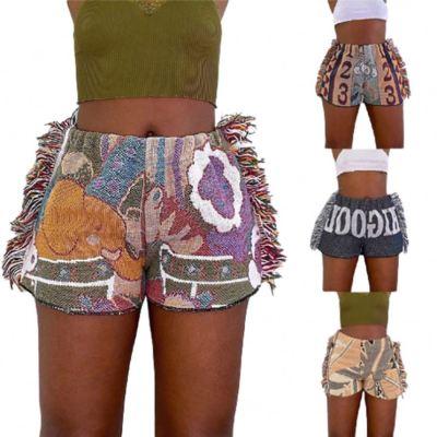 MOEN Wholesale Fashion 2021 Summer Clothes Tassels Women's Trousers Shorts Pants
