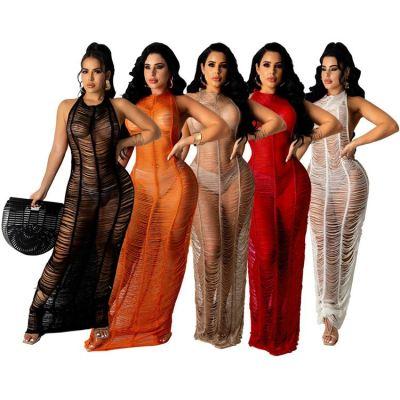 1051413 New Arrival 2021 Women Clothing Dresses Women Lady Elegant Casual Summer Dress