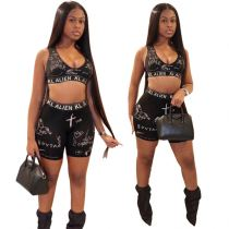 1051712 Hot Selling Women 2021 Summer Clothes Outfits Women Two Piece Short Set