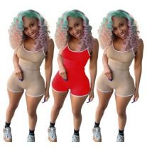 1051713 Hot Onsale Women Clothes 2021 Summer Women Bodycon Jumpsuits And Rompers