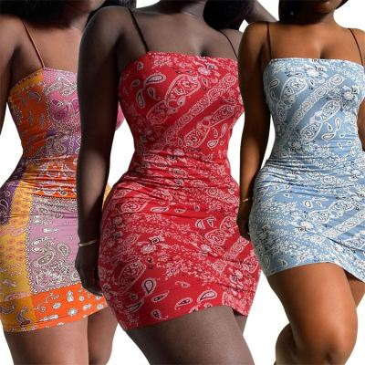 1052153 Hot Selling Womens Dresses 2021 Birthday Dress Sexy Gold Dresses