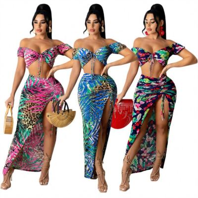 1052155 New Style  Summer Set 2021 Women Plus Size Biker Shorts Sets 2 Piece Sets