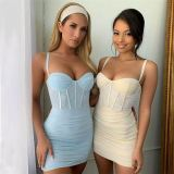 1053105 New Arrival 2021 Summer Women Fashion Clothes Ladies Sexy Dress Women Casual Dresses