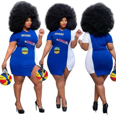 1052663 High Quality Plus Size Summer Dresses Women Dress Elegant Birthday Dress For Women