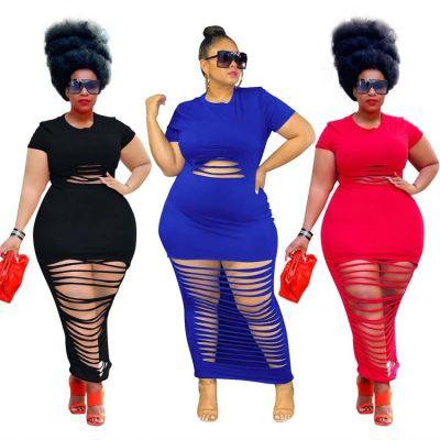 1052664 High Quality Plus Size Summer Dresses Women Dress Elegant Birthday Dress For Women