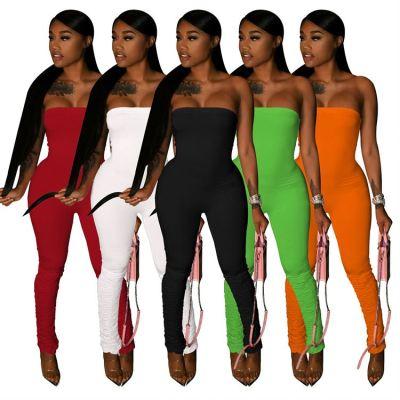 1052660 Lowest Price Sexy Jumpsuit Black Jumpsuit Women Off The Shoulder Jumpsuit Women