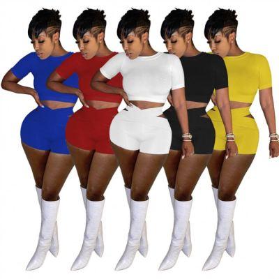 1052659 Lowest Price Two Piece Set 2021 Stack Pants 2 Piece Set Womens Short 2 Piece Set