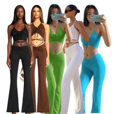 1060106 Best Seller Women Clothes 2021 Summer Two Piece Outfits Women 2 Piece Set