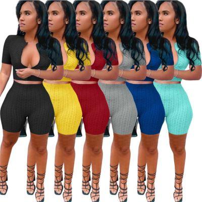1060110 Best Seller Women Clothes 2021 Summer Two Piece Outfits Women 2 Piece Set