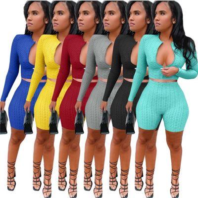 1060111 Best Seller Women Clothes 2021 Summer Two Piece Outfits Women 2 Piece Set