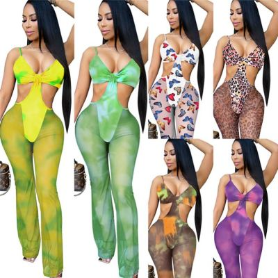 1060119 New Arrival 2021 Summer Women Clothes Women One Piece Jumpsuits And Rompers