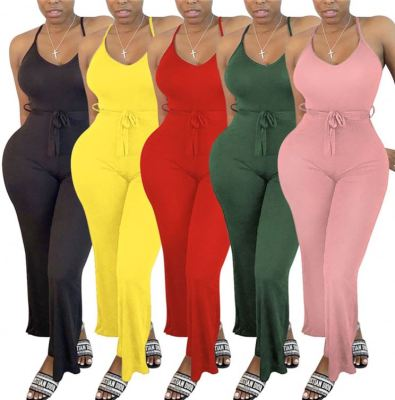 1060112 New Arrival 2021 Summer Women Clothes Women One Piece Jumpsuits And Rompers