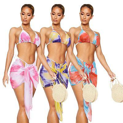 1060313 Best Seller 2021 Summer Fashion Sexy Swimwear Bikini Set Ladies Swimsuit Beachwear