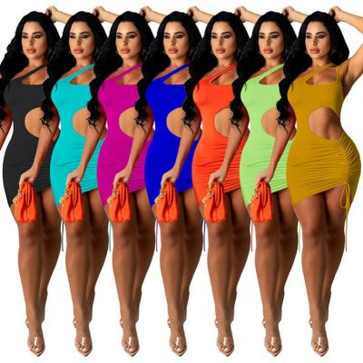 1060317 New Arrival 2021 Women Clothes Ladies Sexy Dress Women Casual Dresses