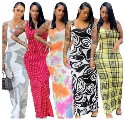 1060261 Latest Design Summer Dress 2021 Dresses Women Lady Elegant Cocktail Dresses
