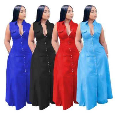 1060510 New Arrival 2021 Women Clothes Ladies Sexy Plus Size Dress Women Casual Dresses