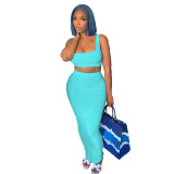 1060519 Wholesale New Women Fashion Clothing 2021 Summer Skirt Sets Women 2 Piece Outfits