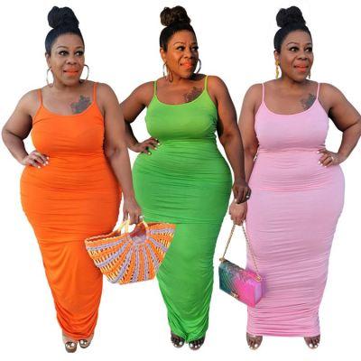 1060520 New Arrival 2021 Women Clothes Ladies Sexy Plus Size Dress Women Casual Dresses