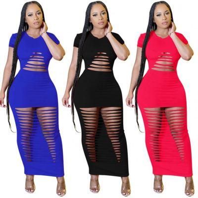 1060235 Newest Design Lady Elegant Sexy Bodycon Dress