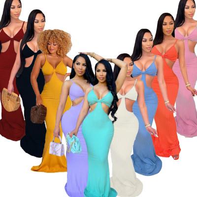MOEN New Design vetement Fashion Whole Colored Women Clothes 2021 Summer Dress Lady Elegant Casual Dress