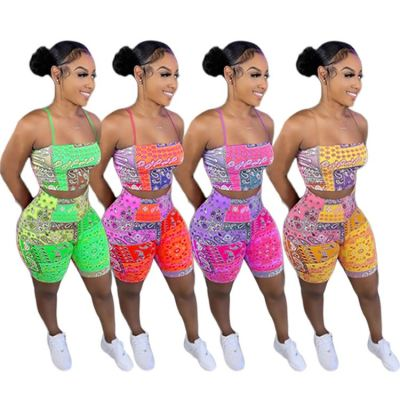 1060719 Best Seller Women Clothes 2021 Summer Two Piece Outfits Women 2 Piece Set Clothing
