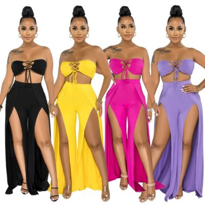 1061001 Hot Selling Women Clothes 2021 Summer women two piece outfit 2 piece set