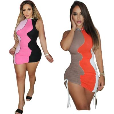1061006 New Arrival 2021 Women Clothes Ladies Sexy Dress Women Casual Dresses