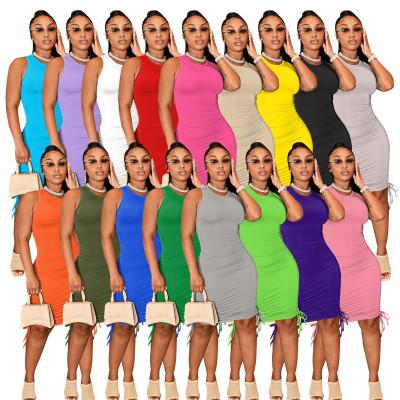 1060539 Hot Selling 2021 Summer Women Fashion Clothing Sexy Dresses Women Lady Elegant Casual Dress