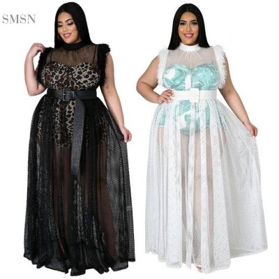 MOEN High Quality Leopard Print Tulle Two Pieces Women Clothing Long Dresses Sexy Two Piece Set For Muslim Women