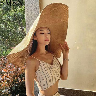 MISS Fashion 2021 Bucket Hats Straw Hats Lovely Boho Straw Hats Women