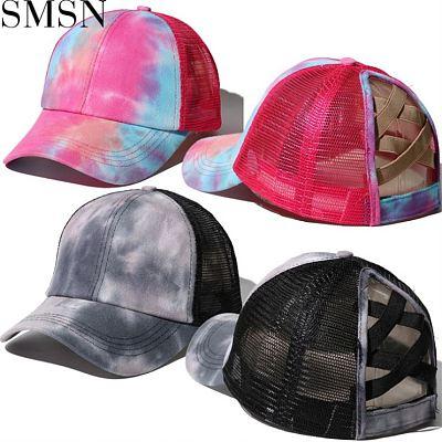 MISS Newest Design 2021 Summer Tie Dye Panelled Designer Hats