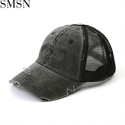 MISS New Trendy  Designer Hats Solid Casual Fashion Hollow Out Baseball Hat