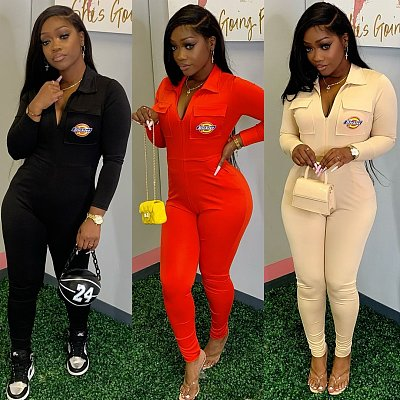 Hot Sale 2021 Winter New Long Sleeve Jumpsuits Women One Piece Jumpsuit and Rompers