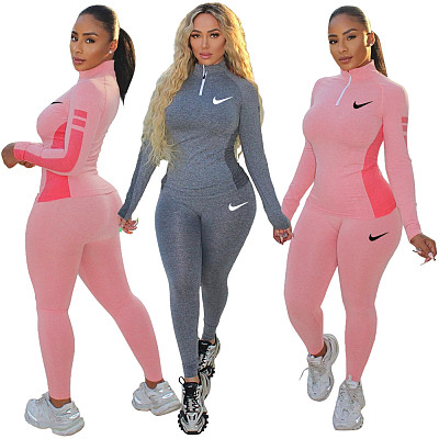 Fall And Winter New Women Clothing Sports Suit Women 2 Piece Set