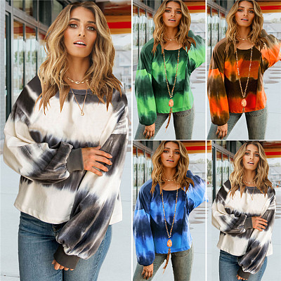 Hot Sale 2021 Spring Casual Long Sleeve Crew Neck Womens Clothes Woman Tops Fashionable Women Blouses Ladies