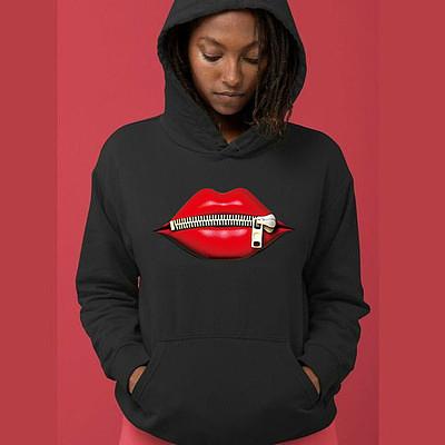 Wholesale New 2021 Women Round Neck Long Sleeve Hooded Print Pullover Hoodies Sweatshirts