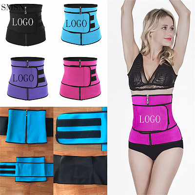 High Quality New Private Label Double Straps Latex Waist Trainer Corset