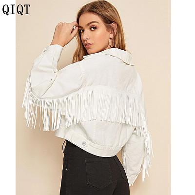 Best Seller Fashion Long Sleeve Denim Womens Coats And Jackets Jeans Women Winter Coat