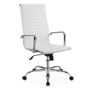 Eames Office Chairs High Back Leather