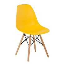 Dsw eames chair plastic yellow