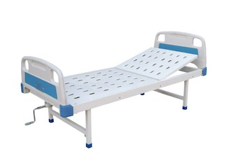 Manual Hospital Bed, Single Function, No Casters