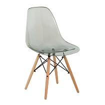 Dsw eames chair plastic transparent