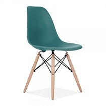 Dsw eames chair plastic teal