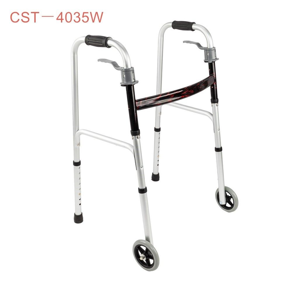 Disabled Elderly Rehabilitation Therapy Supplies Walker Walking Aid