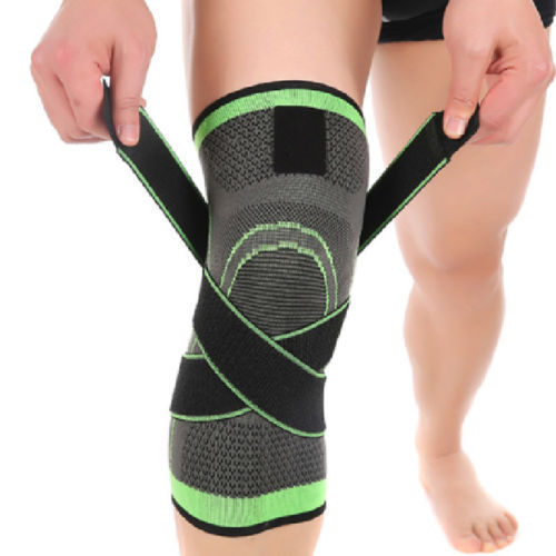 Knee Brace Breathable Support Running Jogging Joint Pain Knee Pad NEW 3D Weaving