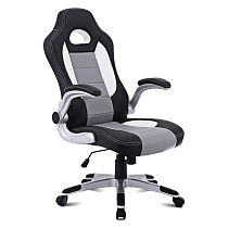 PU Leather Executive Racing Style Bucket Seat Chair Sport Office Desk Chair New