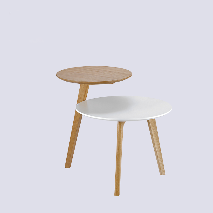 Round Coffee Table MDF Wood